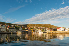 Barents Sea in Finnmark, Norway Royalty Free Stock Photography