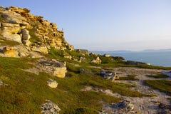 The Barents sea, Murmansk region, Russia Royalty Free Stock Image