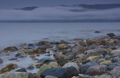 The Barents sea, Murmansk region, Russia Royalty Free Stock Image