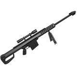 Barett Sniper Rifle Royalty Free Stock Image