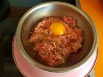 Barf еды для собак стоковое изображение rf
