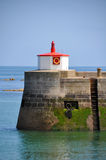 Barfleur in Normandy, France Stock Image