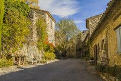 Bargème-Dorf Stockfotografie