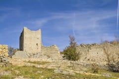 Bargème village Royalty Free Stock Photo