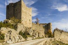 Bargème village Royalty Free Stock Images