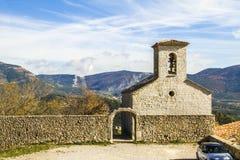 Bargème village Stock Photo