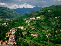Barga Италия Стоковое Изображение RF