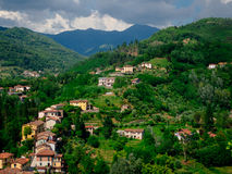 Barga Italy Image libre de droits