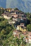 Barga Lucca Toscana Italia foto de archivo