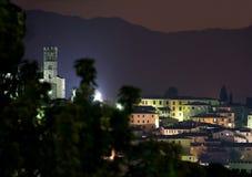 Barga Lucca Toskana Italien stockfotografie