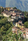 Barga lucca tuscany Italien Arkivfoto