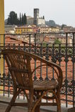 Barga lucca tuscany Italien Royaltyfria Foton