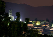 Barga lucca tuscany italy Stock Photography