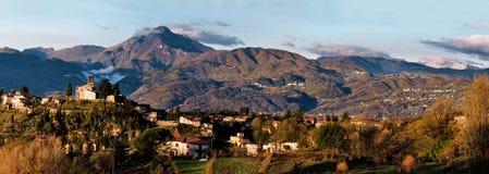 Barga lucca tuscany italy Stock Image