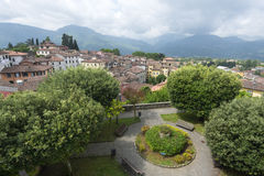 Barga (Tuscany, Italy) Royalty Free Stock Image