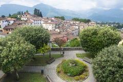Barga Tuscany, Włochy (,) Zdjęcia Royalty Free