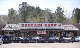 Bargin Barn Thrift Shop, Somerville, TN Royalty Free Stock Photography