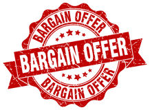 Bargain offer stamp Royalty Free Stock Photography