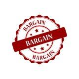 Bargain stamp illustration Stock Images