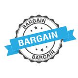 Bargain stamp illustration Royalty Free Stock Image