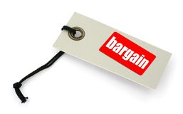Bargain tag Stock Images