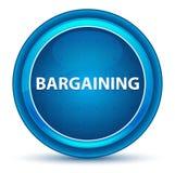 Bargaining Eyeball Blue Round Button royalty free illustration