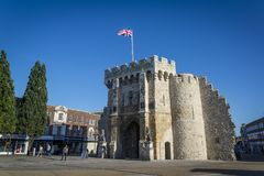 Bargate, Southampton, Hampshire, Engeland, het UK royalty-vrije stock fotografie