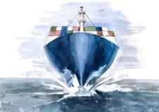 Barge Royalty Free Stock Photo