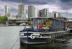 Barge. Royalty Free Stock Photo