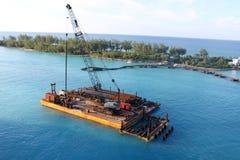 Barge adentro Nassau Fotos de archivo