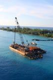 Barge adentro Nassau Imagen de archivo
