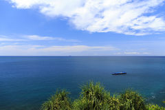 The Barge in Andaman sea Stock Image