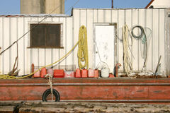Barge boat Stock Images