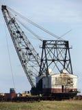 Barge Crane Stock Photo