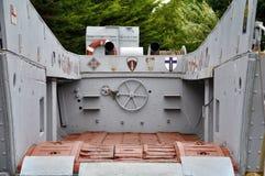 Barge de débarquement militaire de la deuxième guerre mondiale américaine Image libre de droits