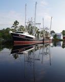 Barge de travail images libres de droits