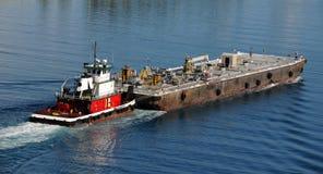 Barge dentro Miami immagine stock libera da diritti