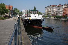 Barge detail. Stock Image