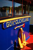 Barge Governor Cleveland stock image