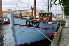 Barge herein Christianhavn Stockfoto