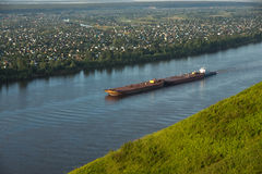The barge Stock Photography