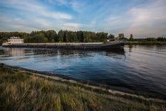 Barge Stock Photo