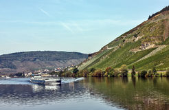 The river Moselle, Germany Royalty Free Stock Images