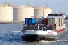 Barge ship Stock Photos