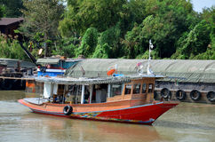 Barge and Tug Boat cargo ship in Chao Phraya river Stock Photography