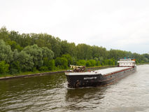 Barge Volga-Balt 144 Stock Photo
