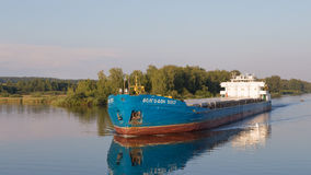 Barge Volga-Don 5057 Stock Image