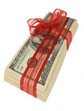 Bargeld $100 Rechnungen Lizenzfreie Stockfotos