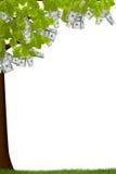 Bargeld-Baum Stockbild