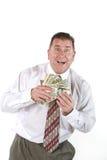 Bargeld in der Hand Stockbilder
